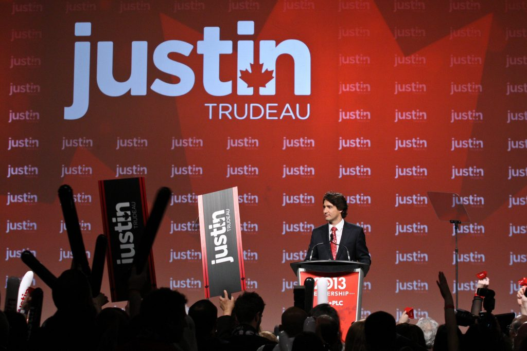 Justin Trudeau at National Showcase