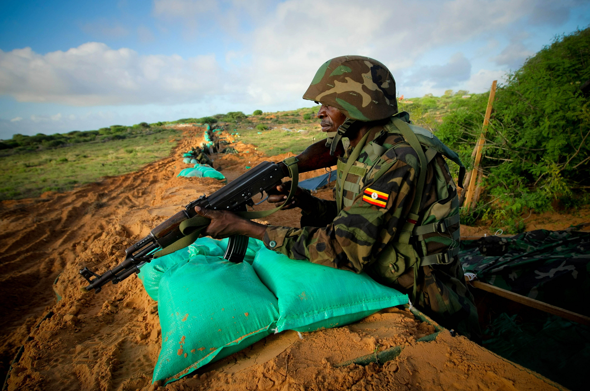 AMISOM Soldier in Mogadishu