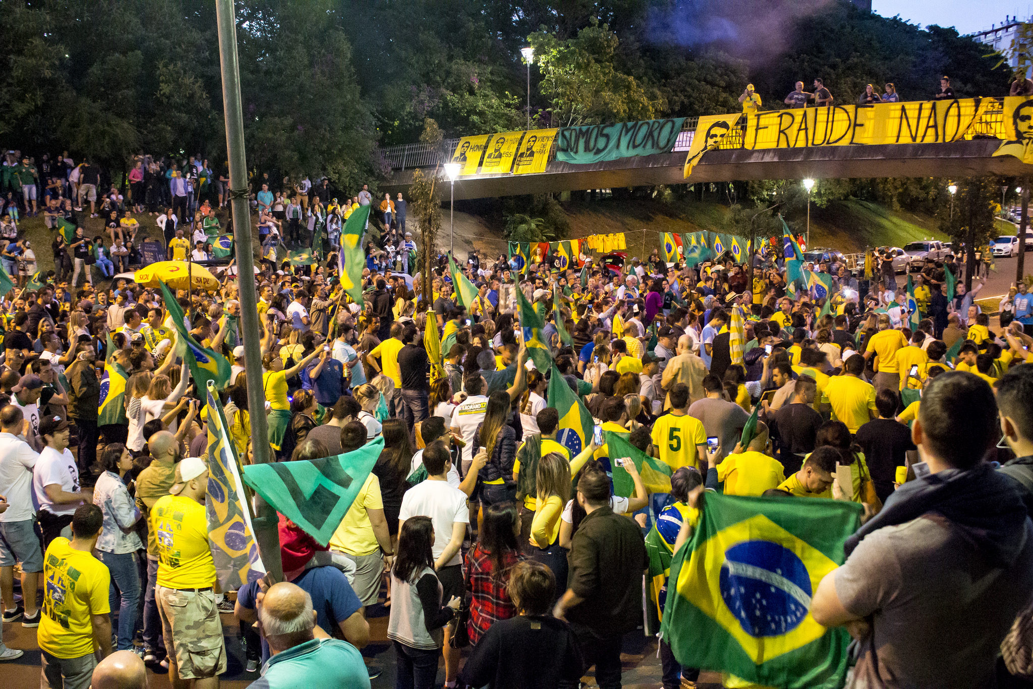 Rally during Brazil Election