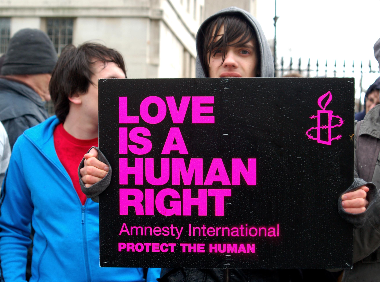 LGBTQ protest