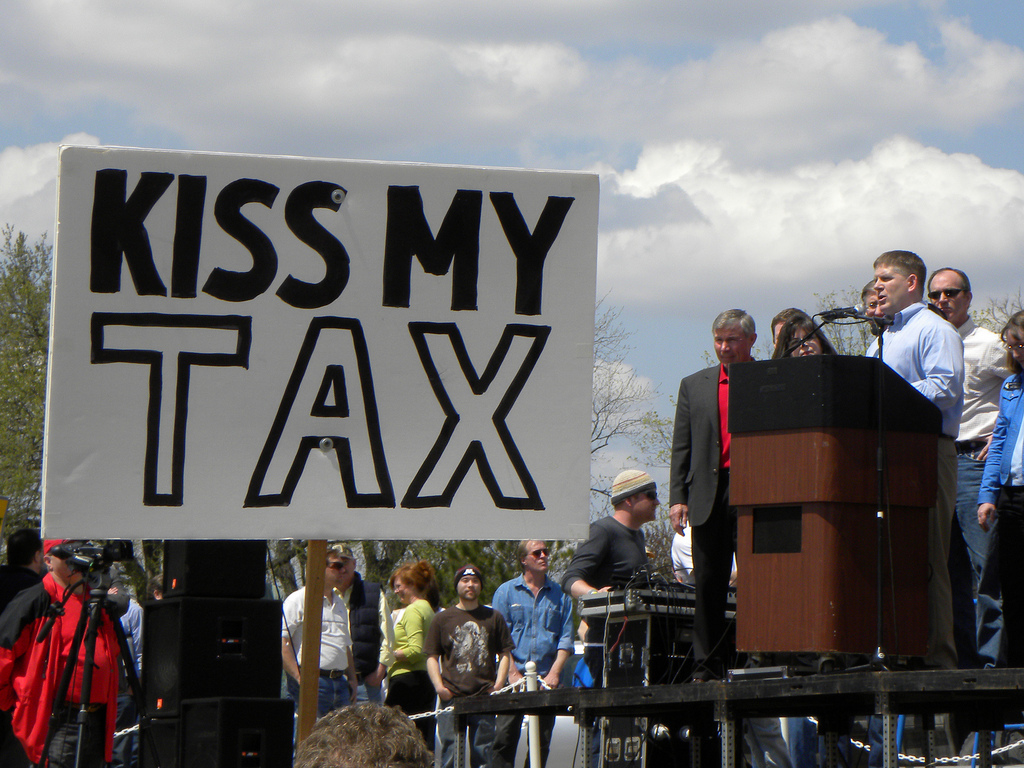 Kiss my tax