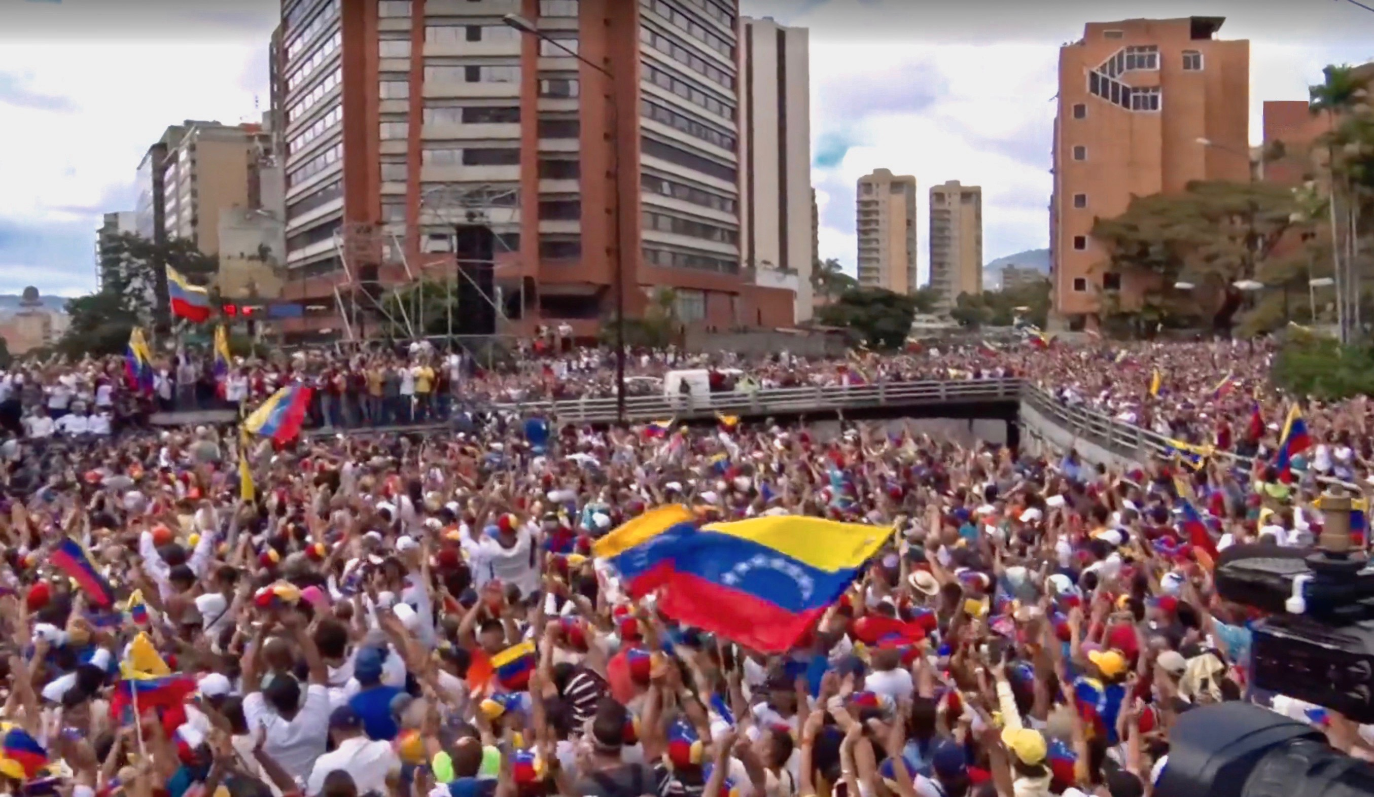 Protests against Maduro