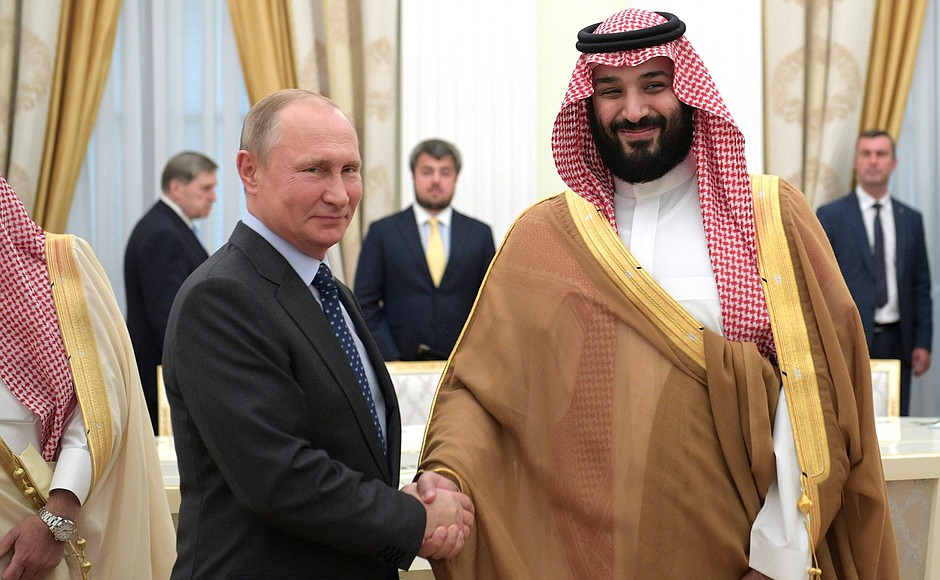Putin and MBS: alliance