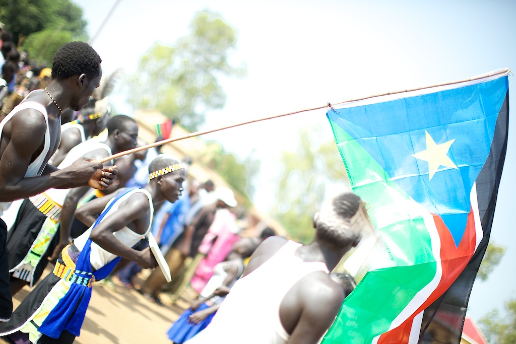 Photo of South Sudan at independence