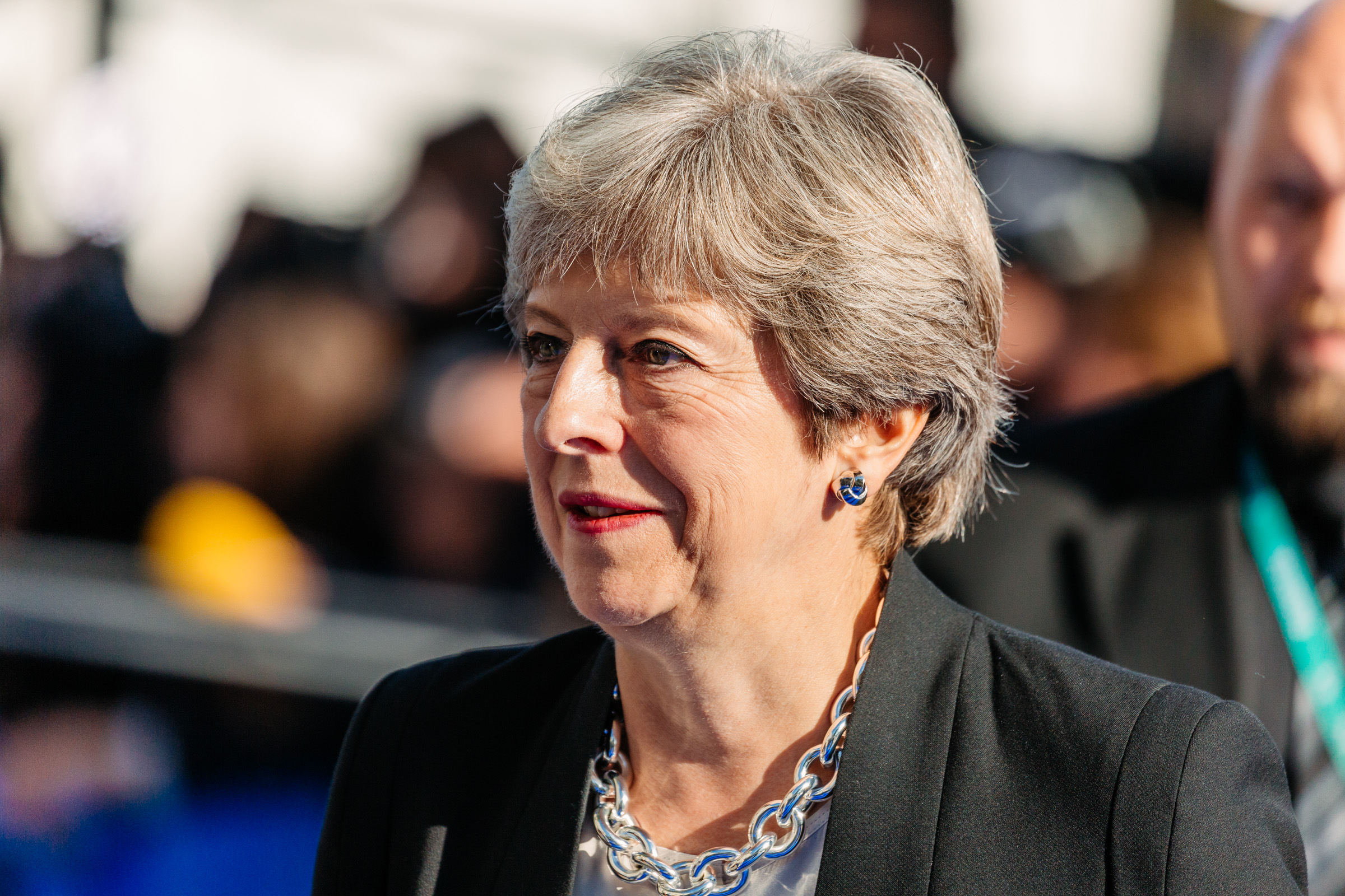 Theresa May, Leader of the British Conservative Party
