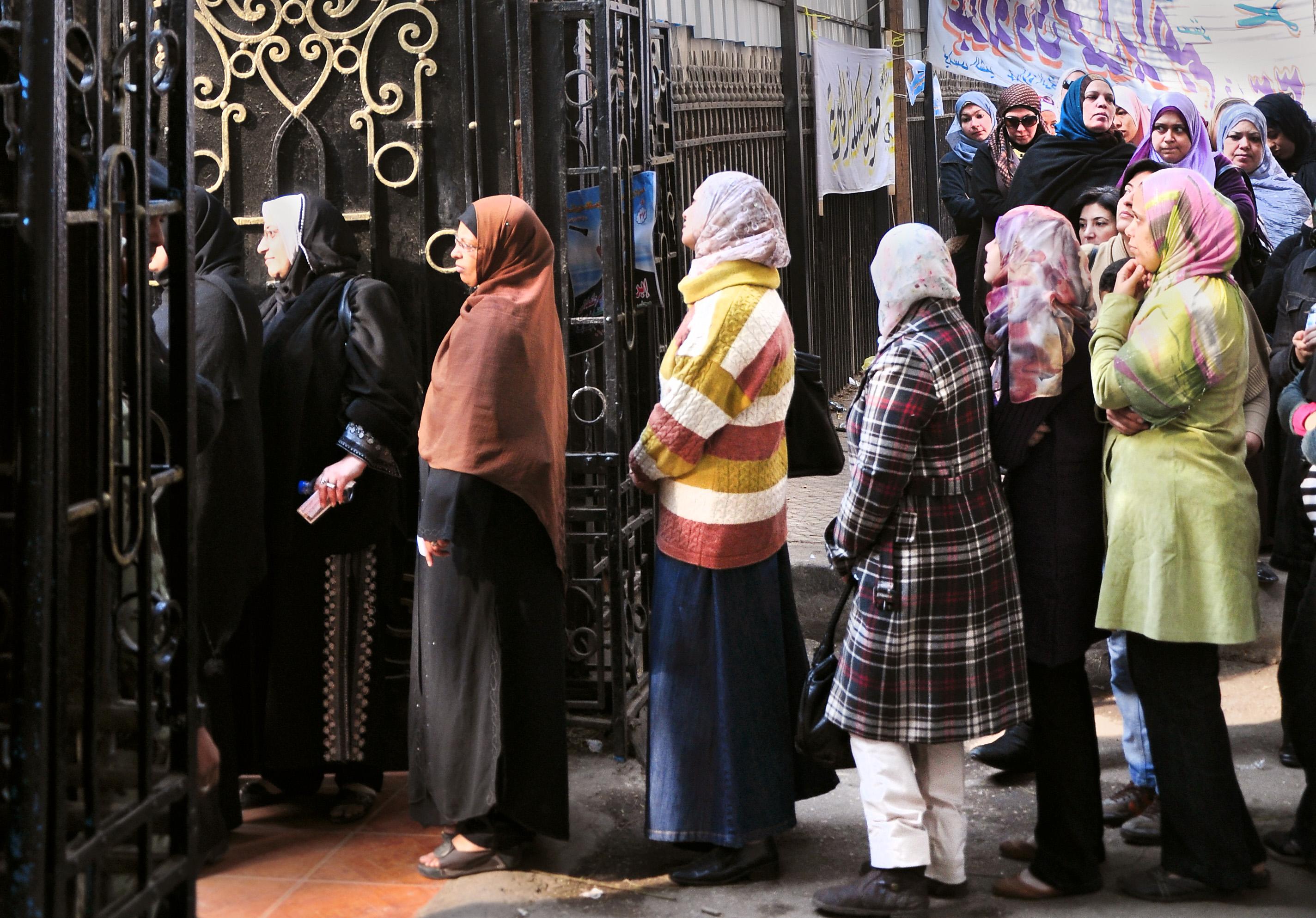 Women Arab Spring